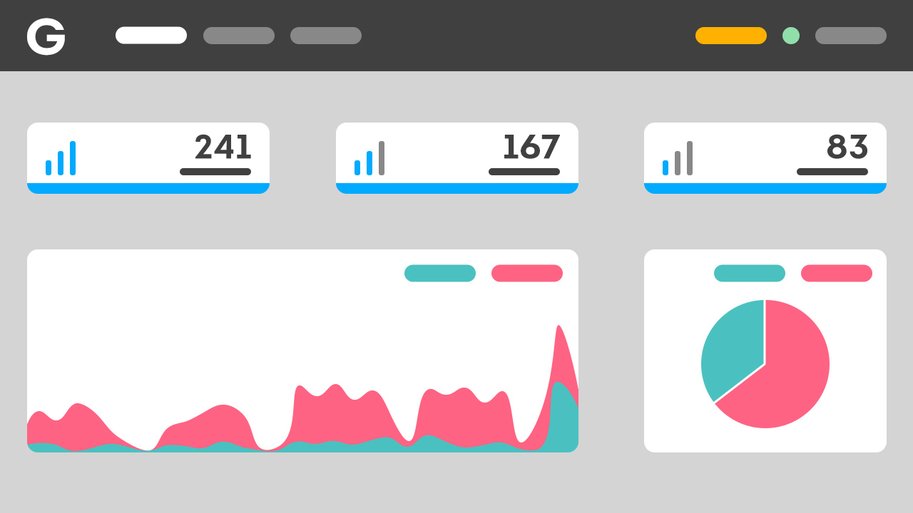 Gatefy Dashboard draft.