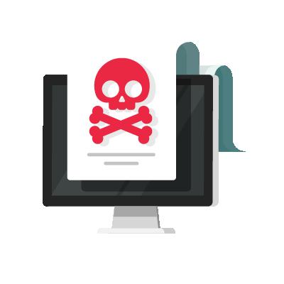 Relatório de cibersegurança falando sobre ameaça.