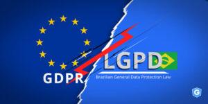 Comparison between Brazilian LGPD and European GDPR