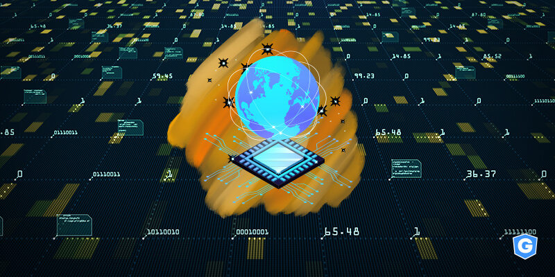 Processor with the whole world of a big data inside of a machine learning software