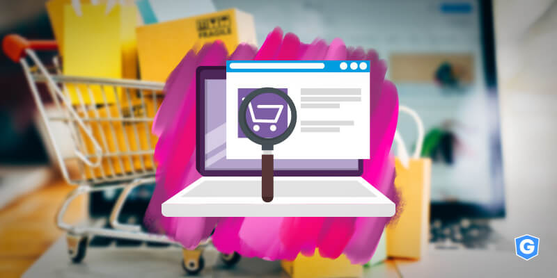 Magnifier finding a phishing email about amazon and ecommerces