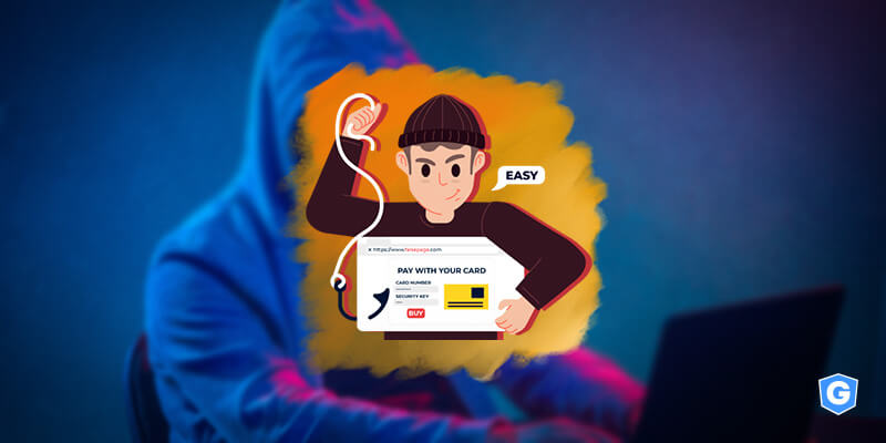 Cybercriminal attacking with an email impersonation scam and saying that's easy