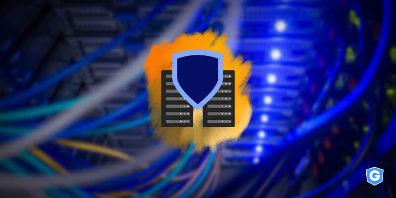 Mail server behind the shield of data protection