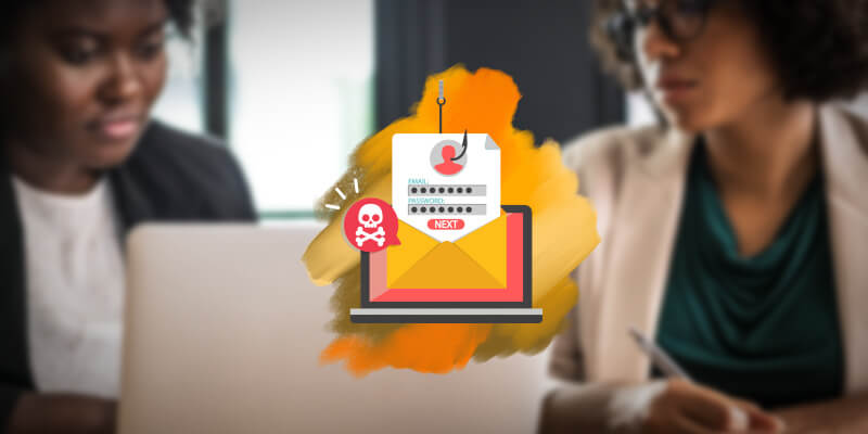 Professionals recognize phishing hook pulling data from malicious emails