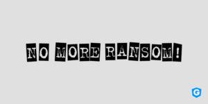 Logo of No More Ransom, a Gatefy partner