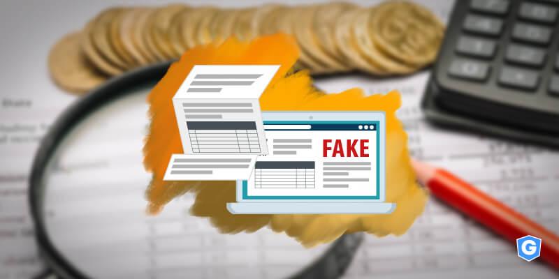 E-mail falso da Receita sobre imposto.