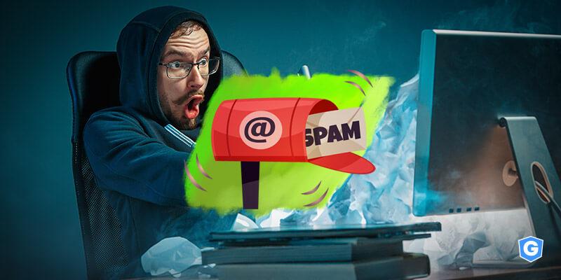 7 tipos comuns de spam de e-mail