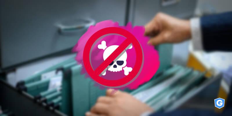 Ameaça detectada por solução de Solução de CD (Content Disarm e Reconstruction).