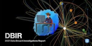 Capa do relatório de violação de dados da Verizon.