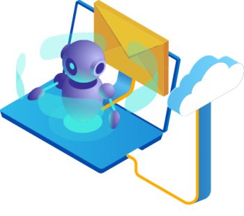 Icon of the Gatefy's cloud email security solution.