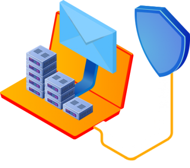 Email Server syncronized with Gatefy's DLP solution.